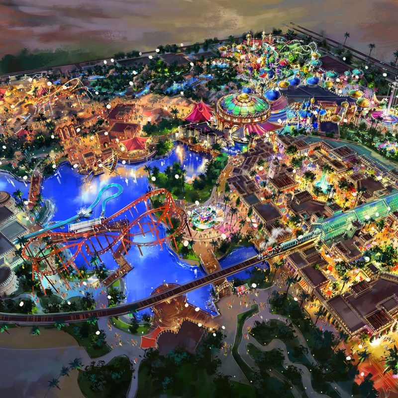 IMG Worlds of Adventure - Dubai Landmarks