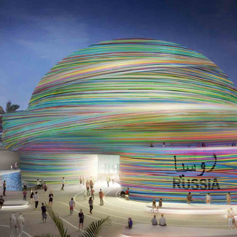 expo 2020 pavilion-russia